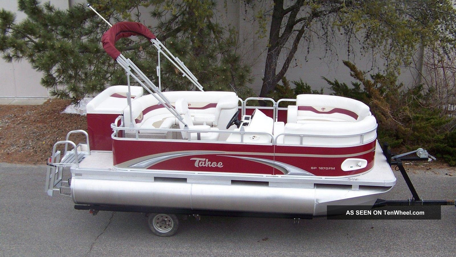 2012 Tahoe 16 Cruise Pontoon / Deck Boats photo