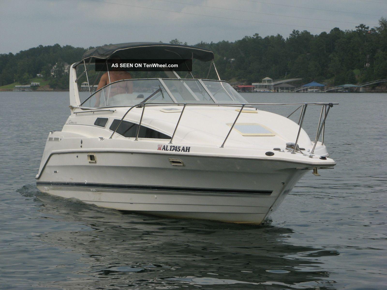 cabin mid cabrio cruisers w io tandem boats full iii mpi cabins mag merc bravo cruiser trailer larson axle