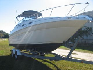 2002 Sea Ray 260 Sundancer photo