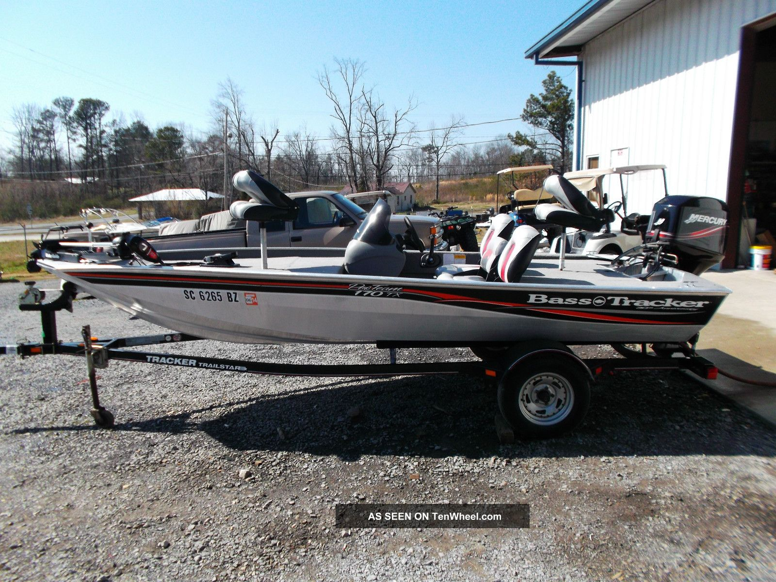 2008 bass tracker pro team 170tx for Bass pro fishing boats