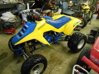 1987 Suzuki Lt 250 R Quadracer photo