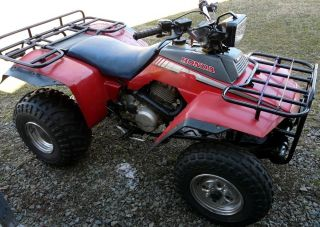 1986 Honda 250 4 Trx photo