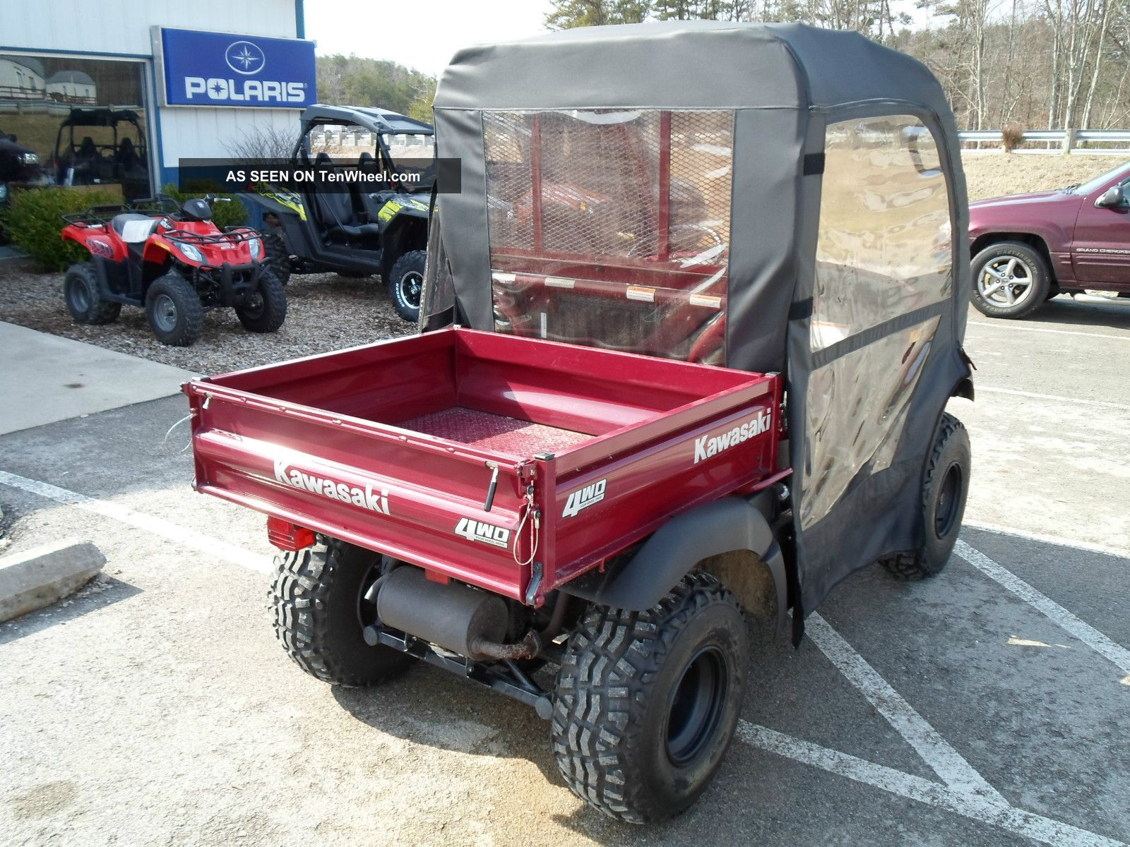 Mule 610 Bumper : Kawasaki mule lookup beforebuying