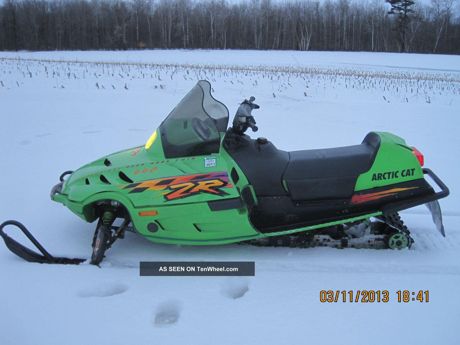 1998 Arctic Cat Zr440