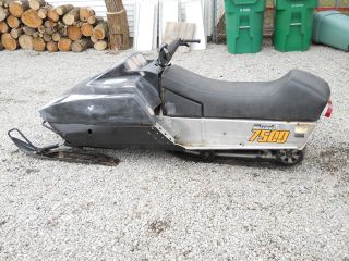 1980 Ski - Doo 7500 Blizzard Plus photo