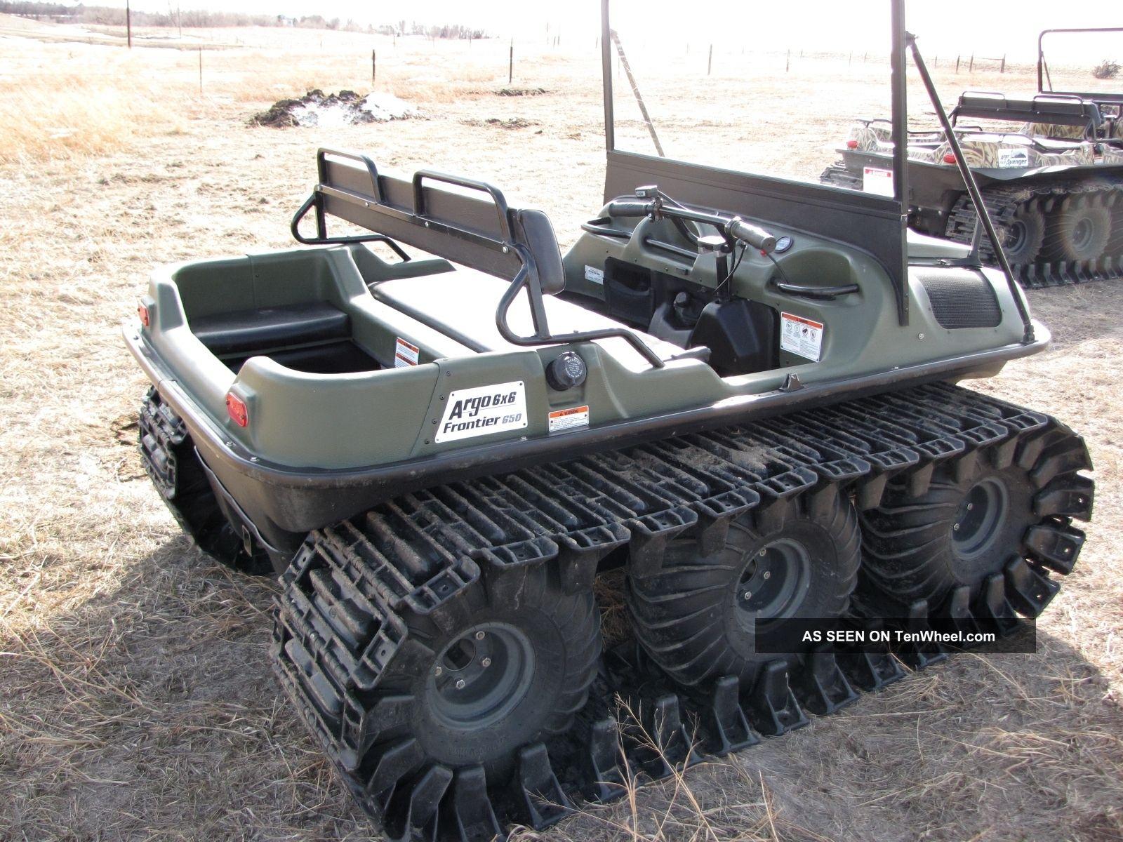 2008 Argo Frontier 650 6x6
