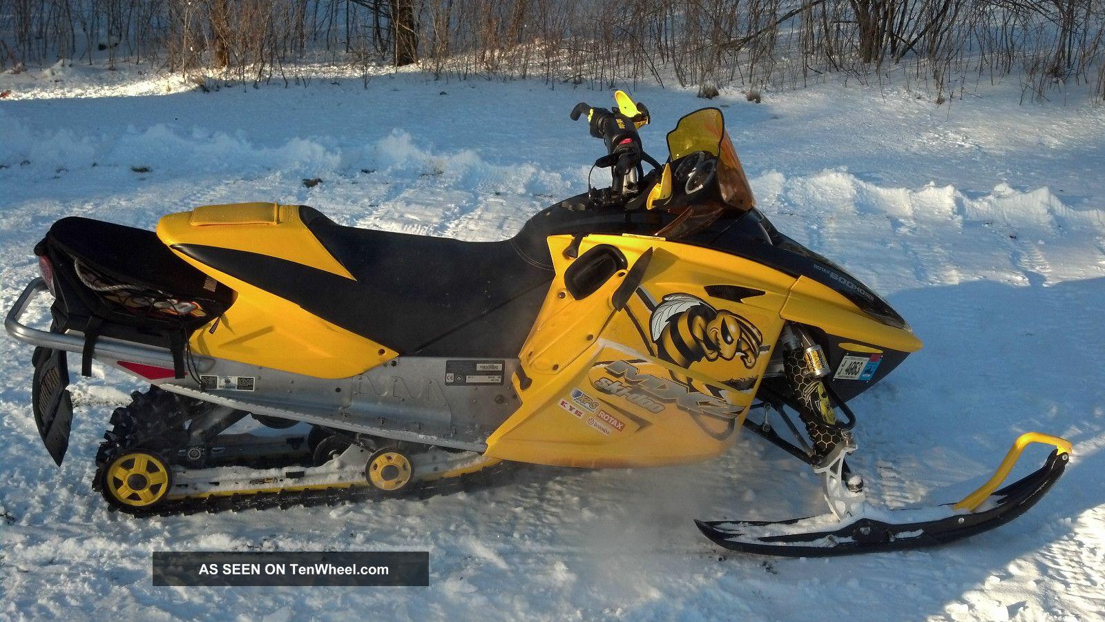 doo mxz ski 600 2006 sdi snowmobiles powersports skidoo