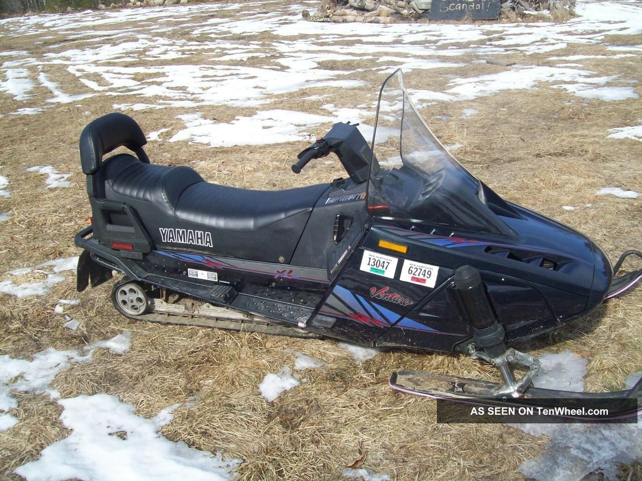 Yamaha Venture Snowmobile Specs