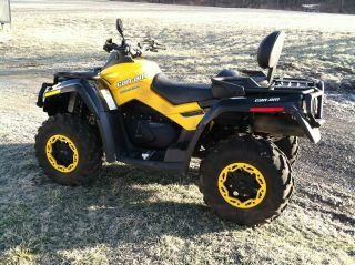 2012 Can Am Outlander Xtp Max photo