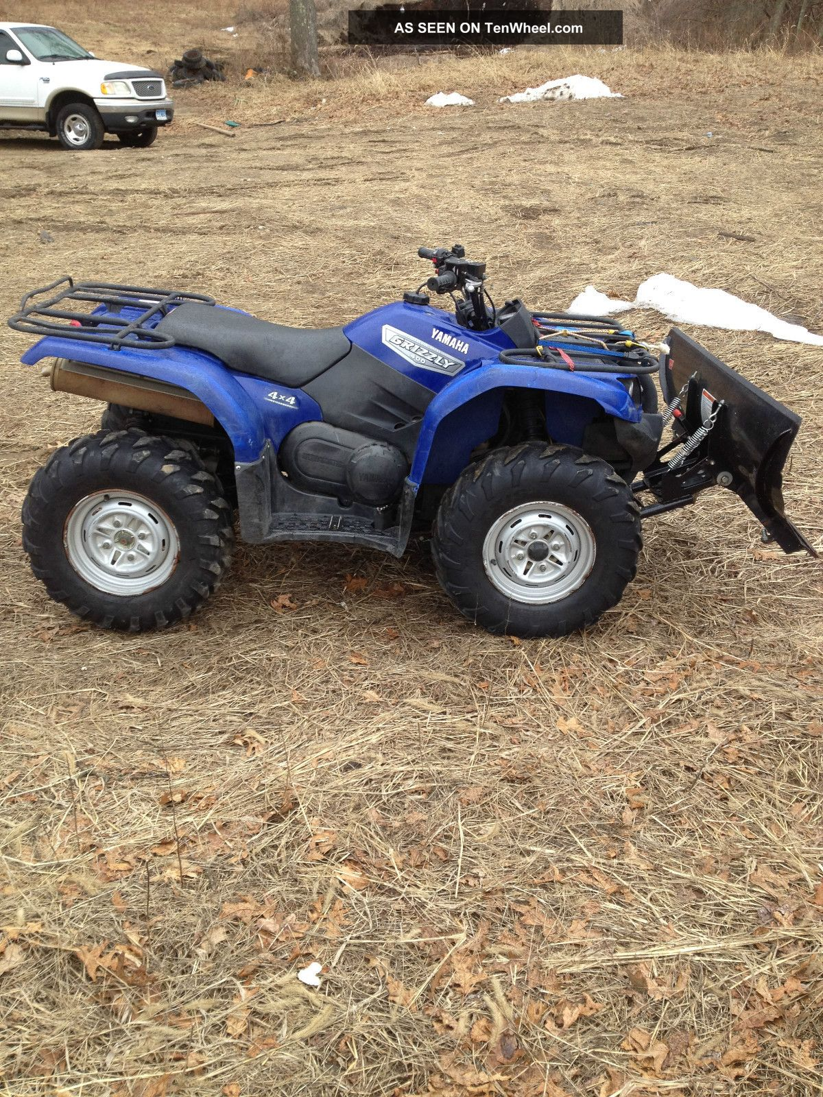2007 yamaha grizzly for Yamaha grizzly 400