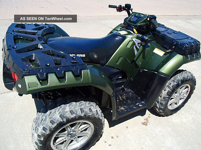 2011 Polaris 2011 Polaris 550 Ep With Power Steering And Efi