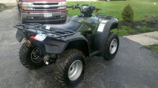 2009 Honda Trx500fe9 Fourtrax Foreman photo