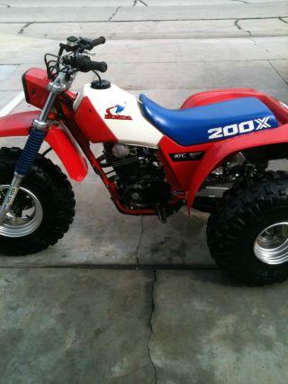 1985 Honda Atc200x photo