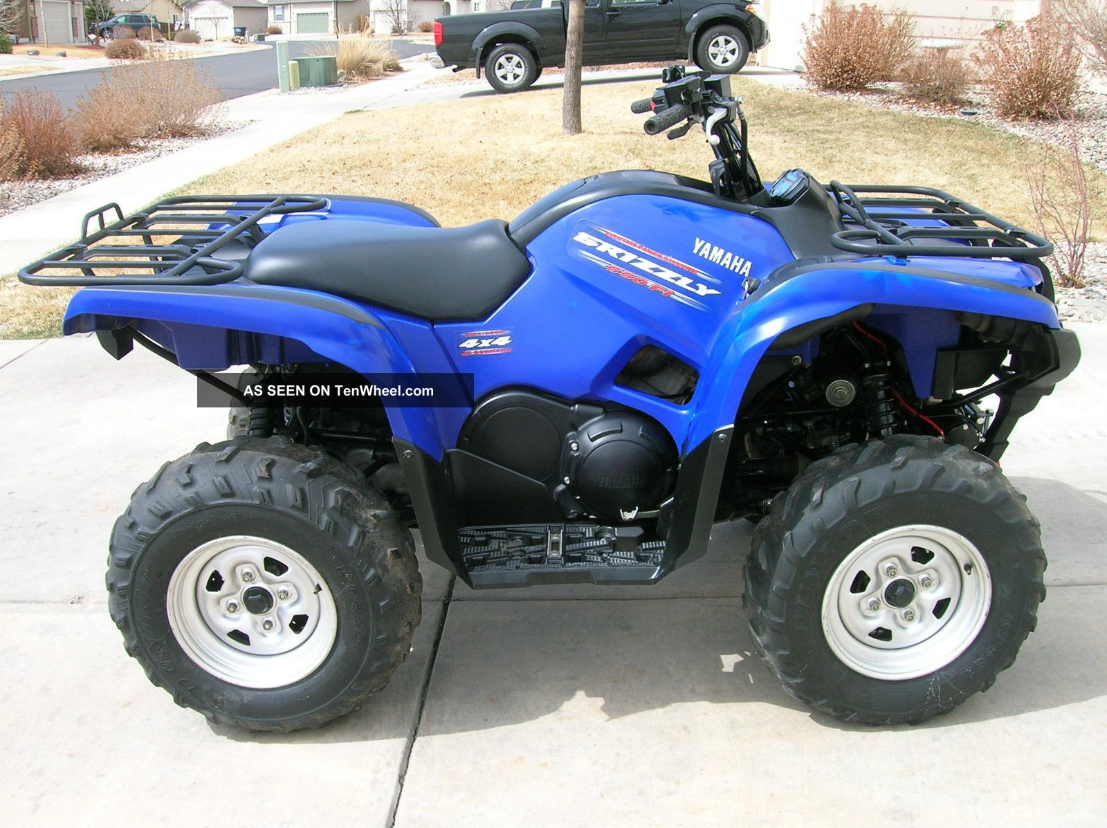 2010 yamaha grizzly 550 eps for Yamaha clp 550 specifications