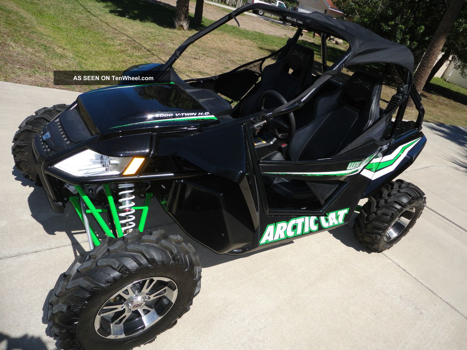 Arctic Cat Wildcat X Specs