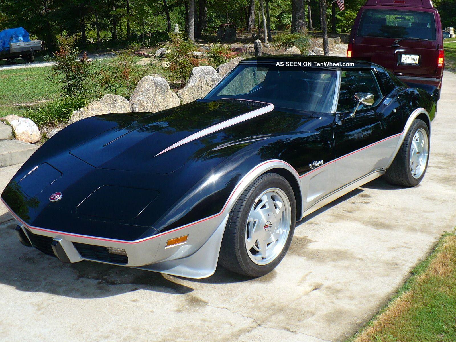 Classic 1976 Corvette Stingray Coupe W T Tops