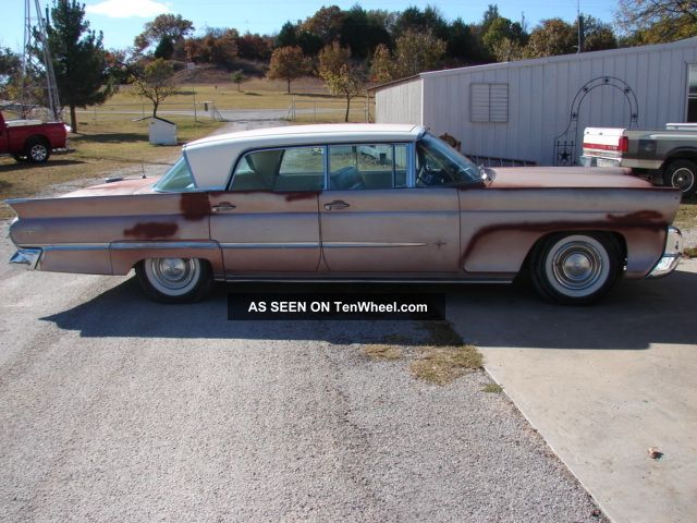 1958 Lincoln Premier - Coral In Color - - Motor.  Email For Info Other photo