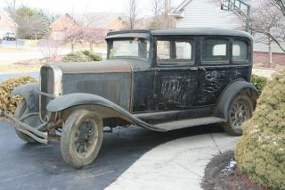 Rare 1930 Buick Marquette 4 Door,  1 Yr Prod,  6cyl,  3sp,  Heater, ,  Complete photo