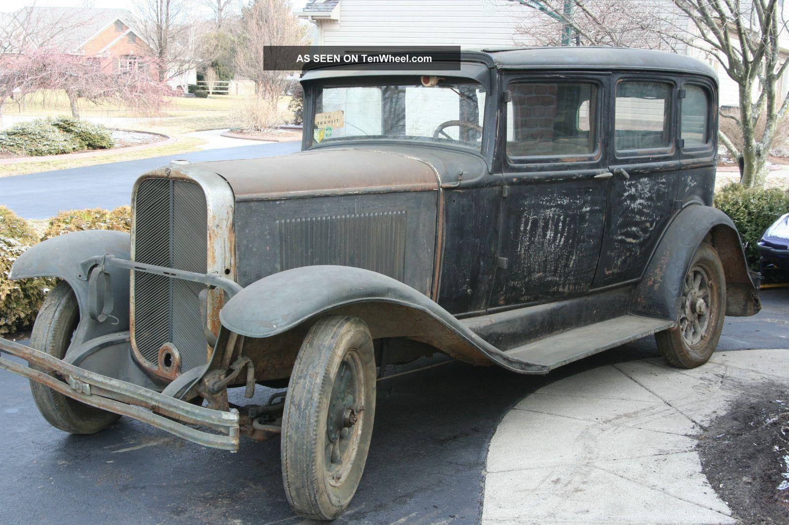 Rare 1930 buick marquette 4 door 1 yr prod 6cyl 3sp for 1930 chevy 4 door
