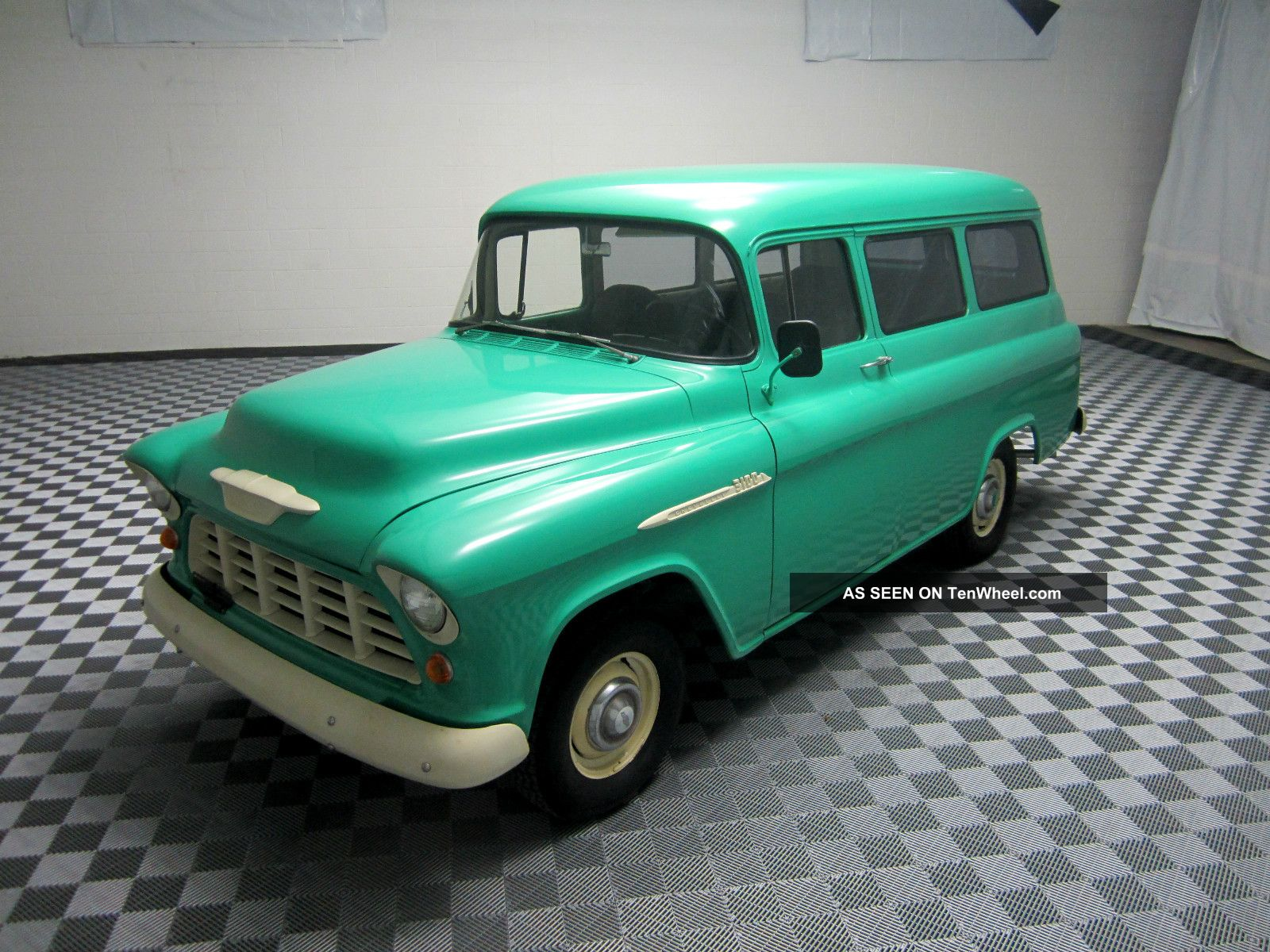 1955 Chevy Suburban Carryall Frame Off Extremely Rare Suburban photo
