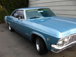 1965 Chevrolet Impala Ss 2 Dr Hardtop 327 - 300hp,  At,  Ac,  All Numbers Matching photo