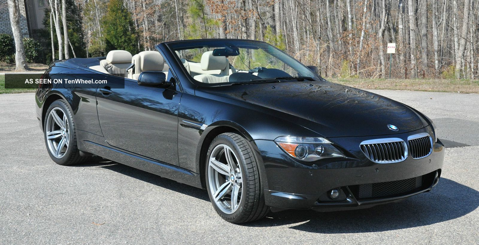2006 bmw 650i convertible 6 sp 51900 mi exc condition. Black Bedroom Furniture Sets. Home Design Ideas