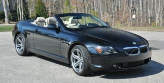2006 Bmw 650i Convertible 6 - Sp 51900 Mi,  Exc.  Condition, , photo