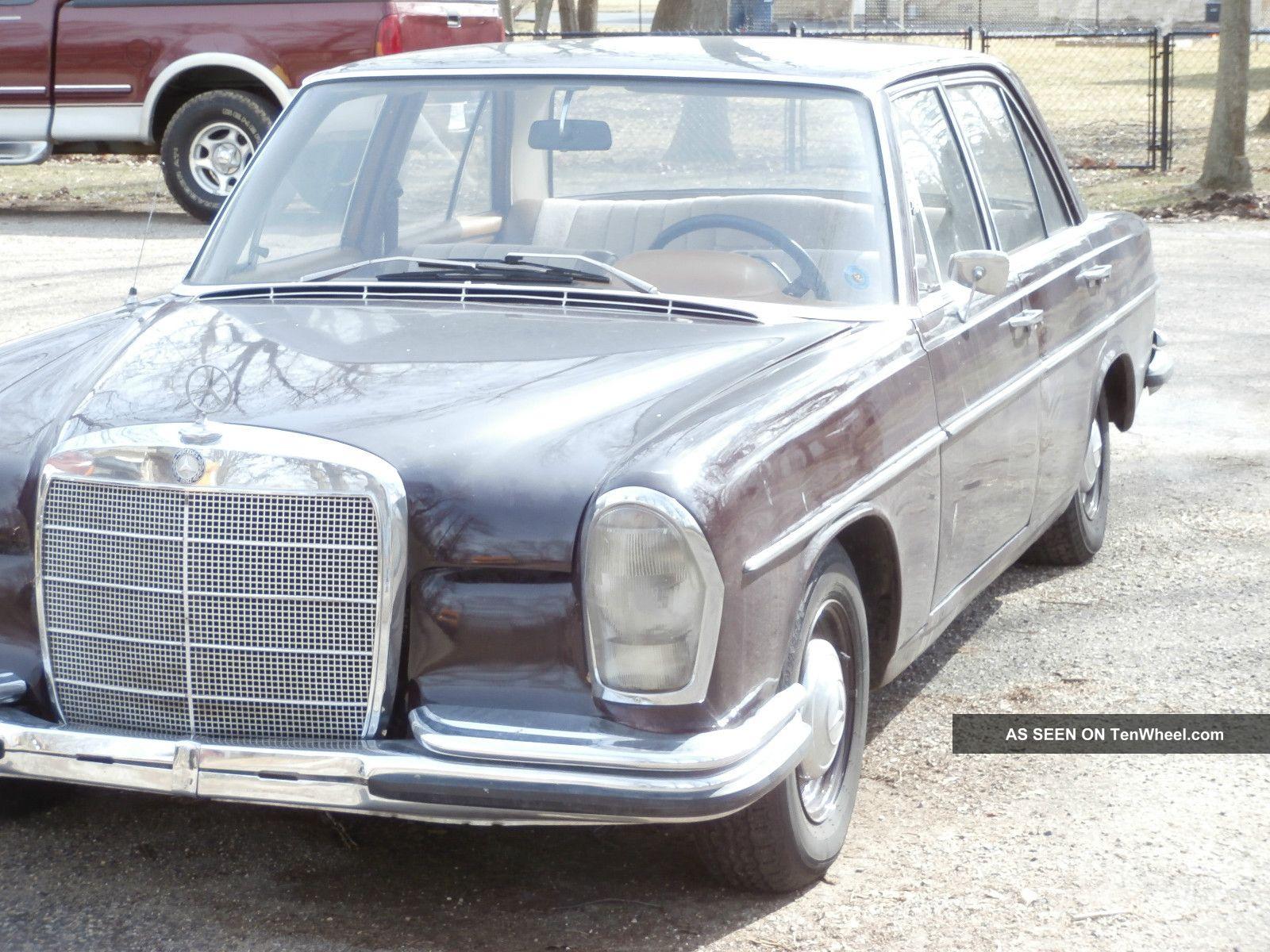 1967 mercedes benz 250 s euro model rare import 35 for Rare mercedes benz
