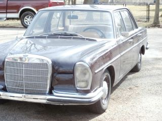 1967 Mercedes - Benz 250 S,  Euro Model / Rare Import,  35 Years In Garage, photo