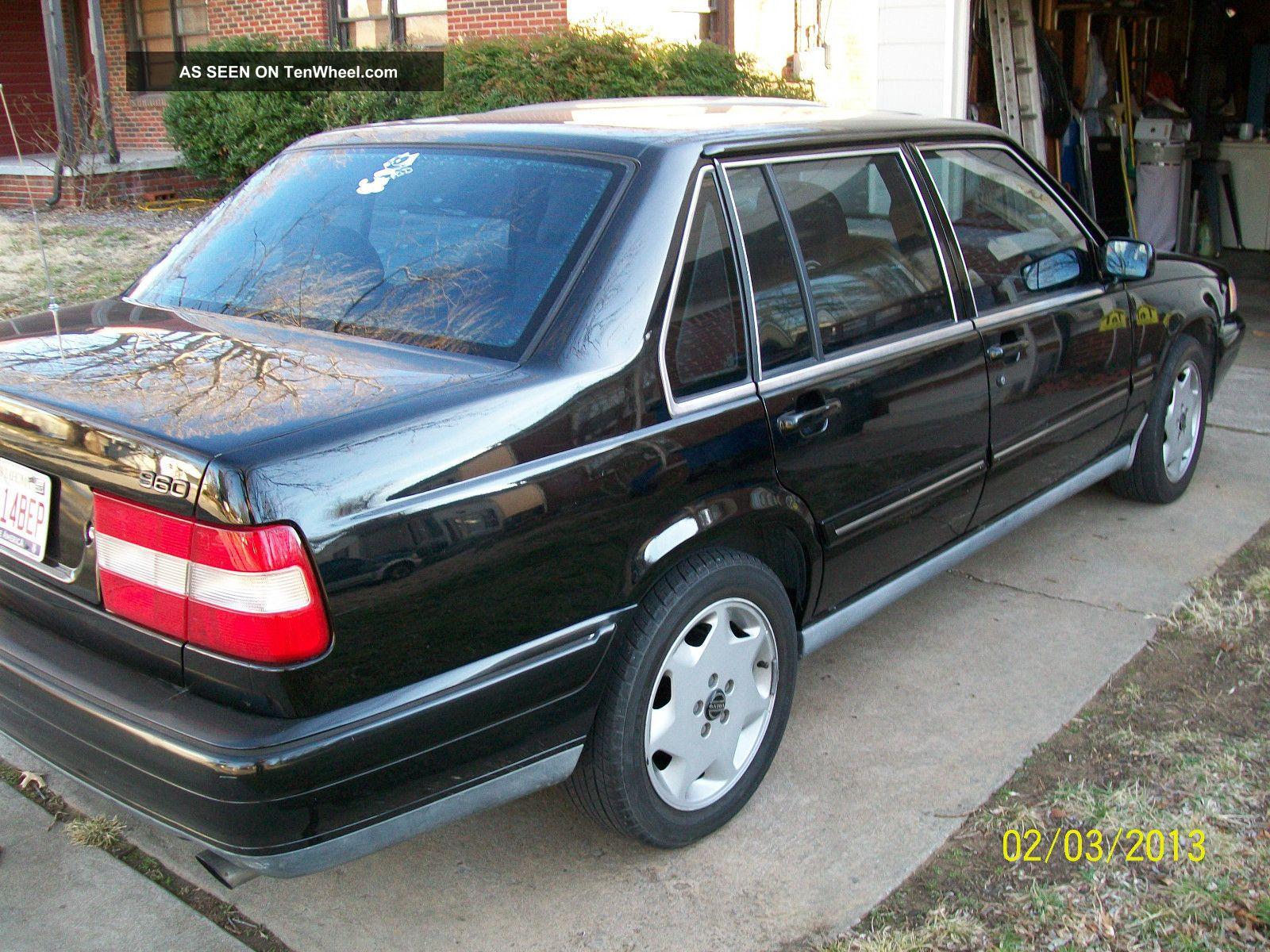 1997 volvo 960 sedan garaged car black with gray interior. Black Bedroom Furniture Sets. Home Design Ideas