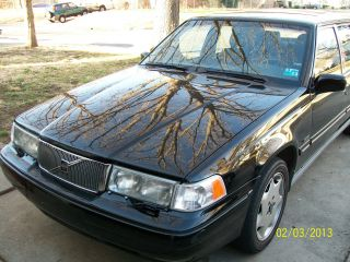 1997 Volvo 960 Sedan Garaged Car Black With Gray Interior photo