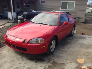 1993 Honda Civic Del Sol Si Coupe 2 - Door 1.  6l photo