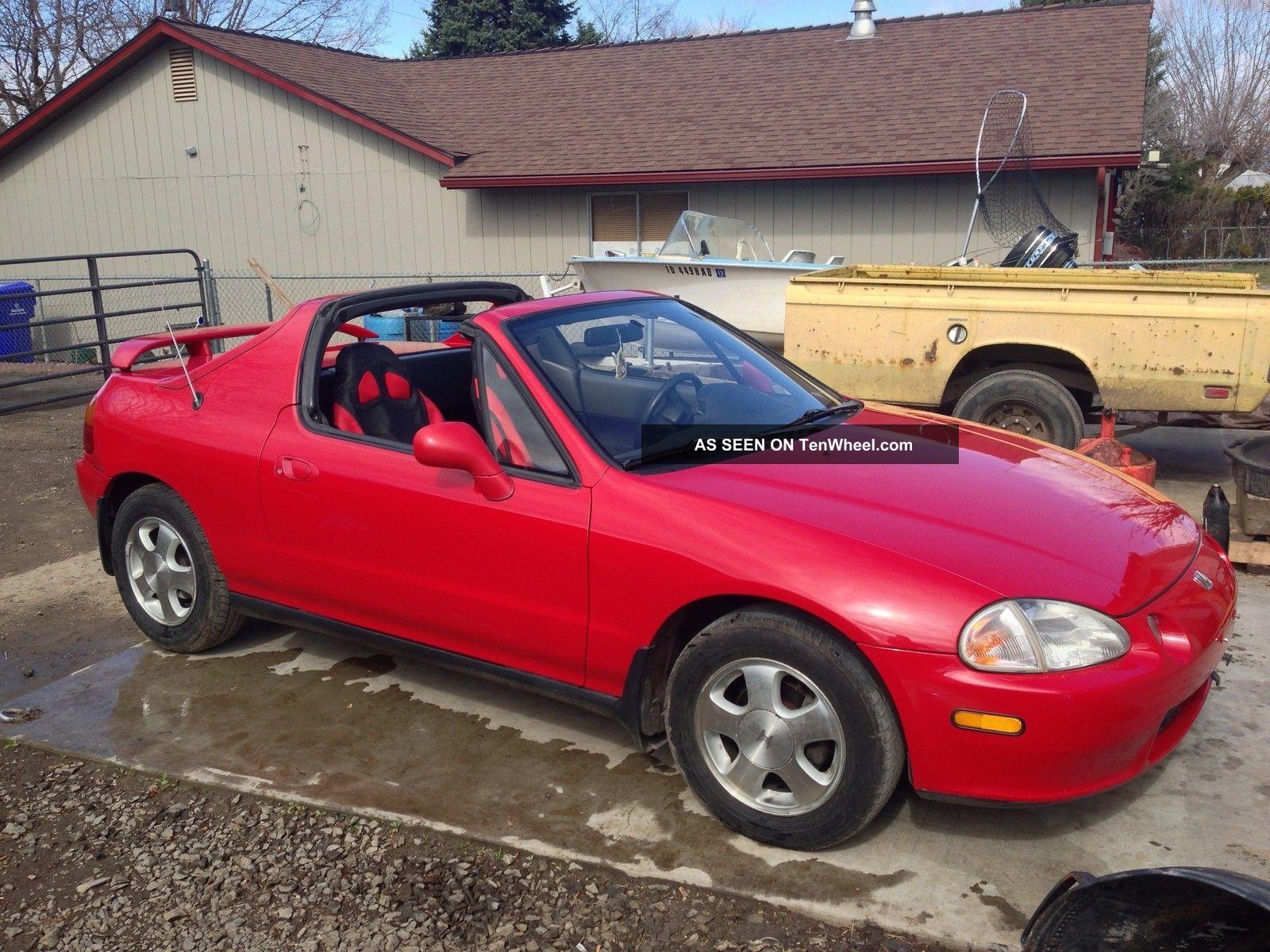 1993 Honda Civic Del Sol Si Coupe 2