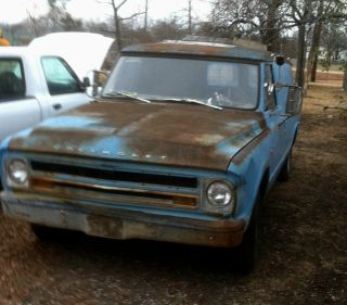 1967 Chevy Panel Truck Hot Rod Rat Rod photo