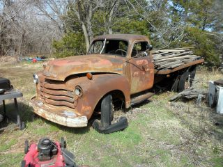 1951 1.  5 Ton Chevrolet Cargo Truck photo