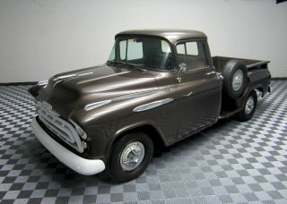 1957 Chevy Apache Pickup Truck V8 Truck Completely photo