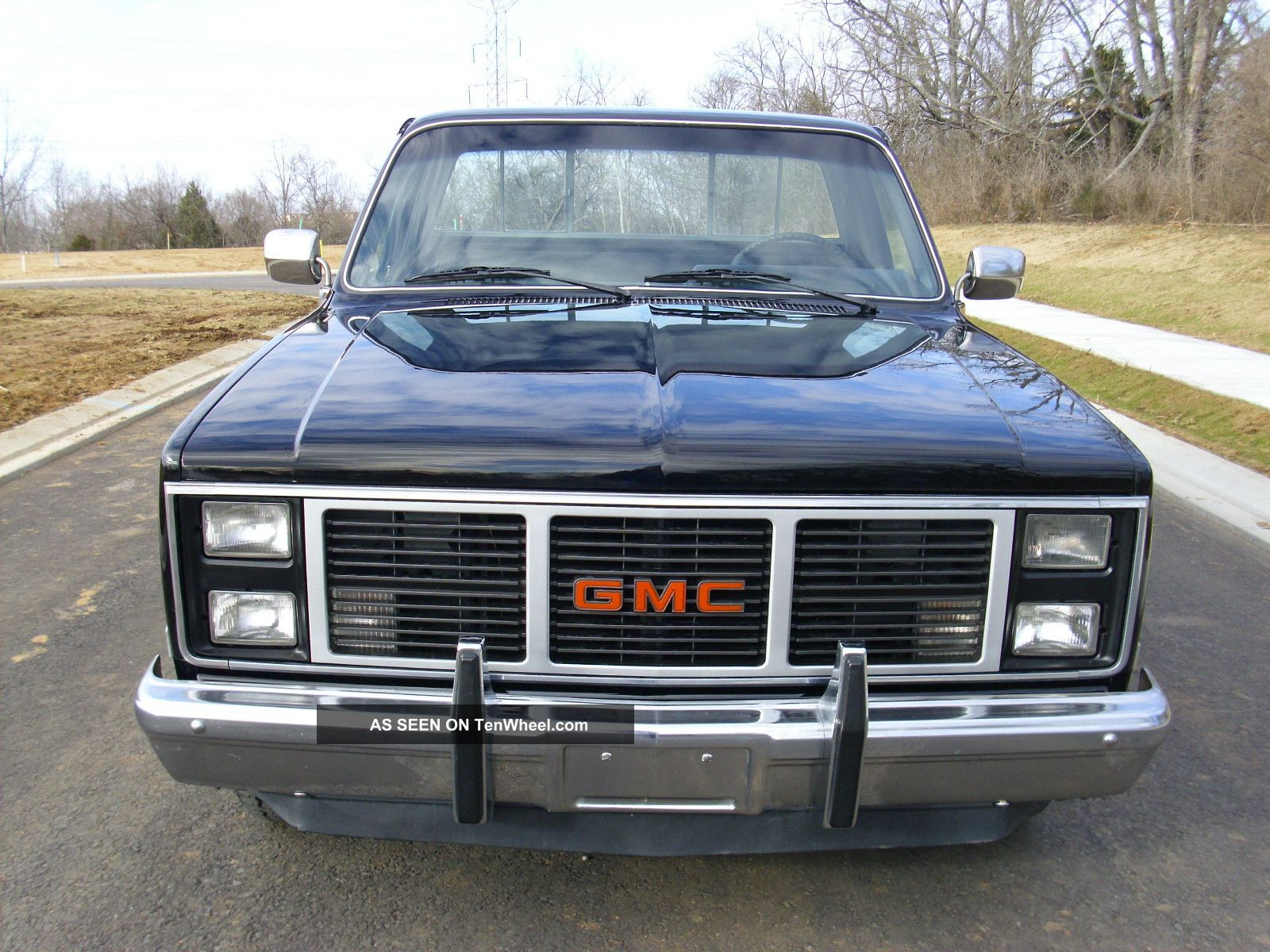 1986 Gmc C1500 Base Standard Cab Pickup 2 - Door 5.  0l Sierra 1500 photo