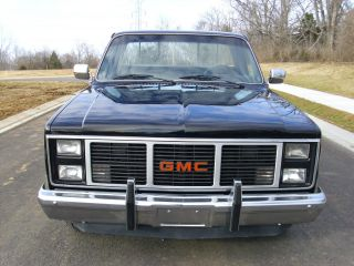 1986 Gmc C1500 Base Standard Cab Pickup 2 - Door 5.  0l photo