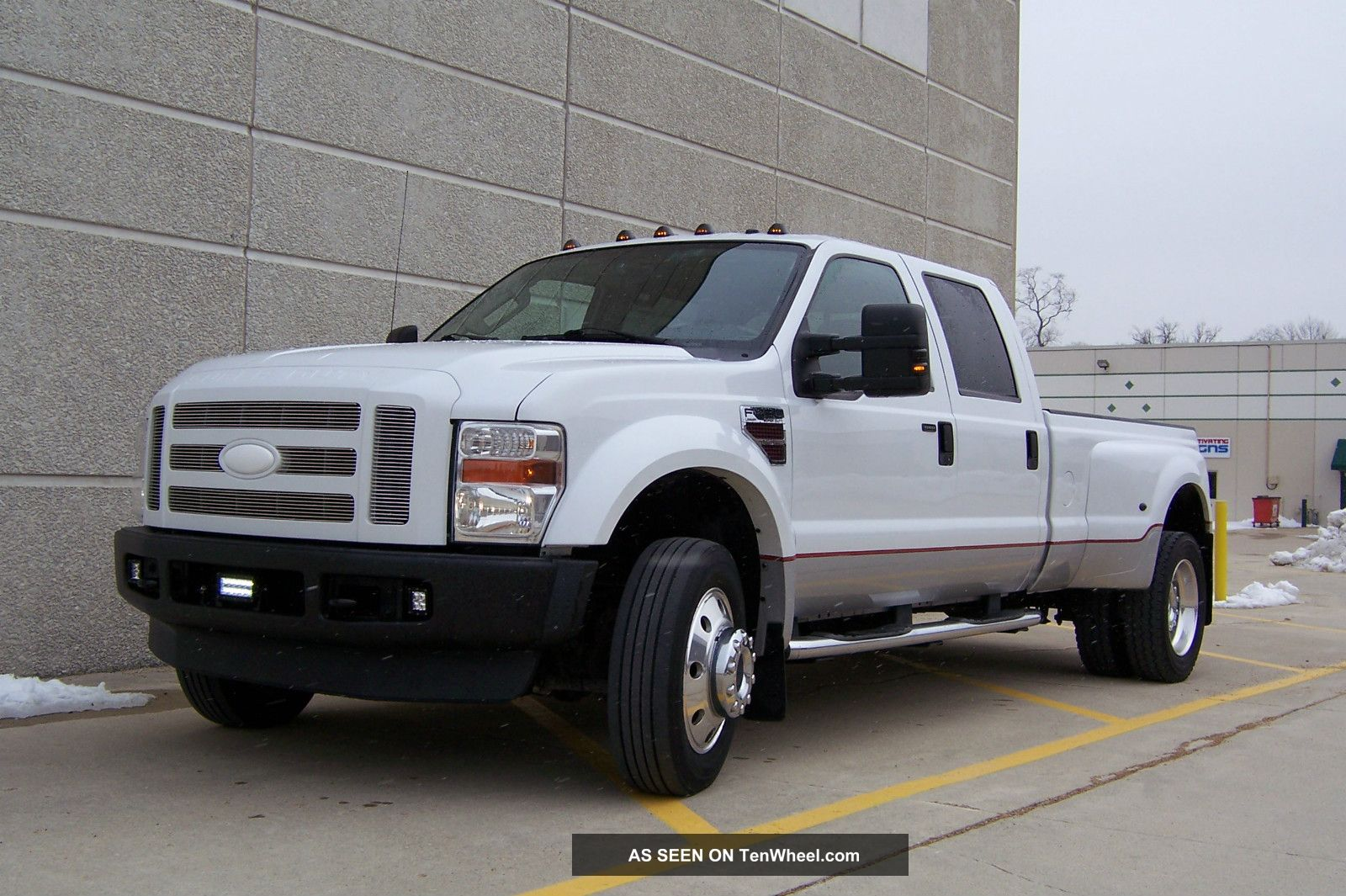 2008 ford f 450 duty lariat 4x4 loaded lots of extras. Black Bedroom Furniture Sets. Home Design Ideas