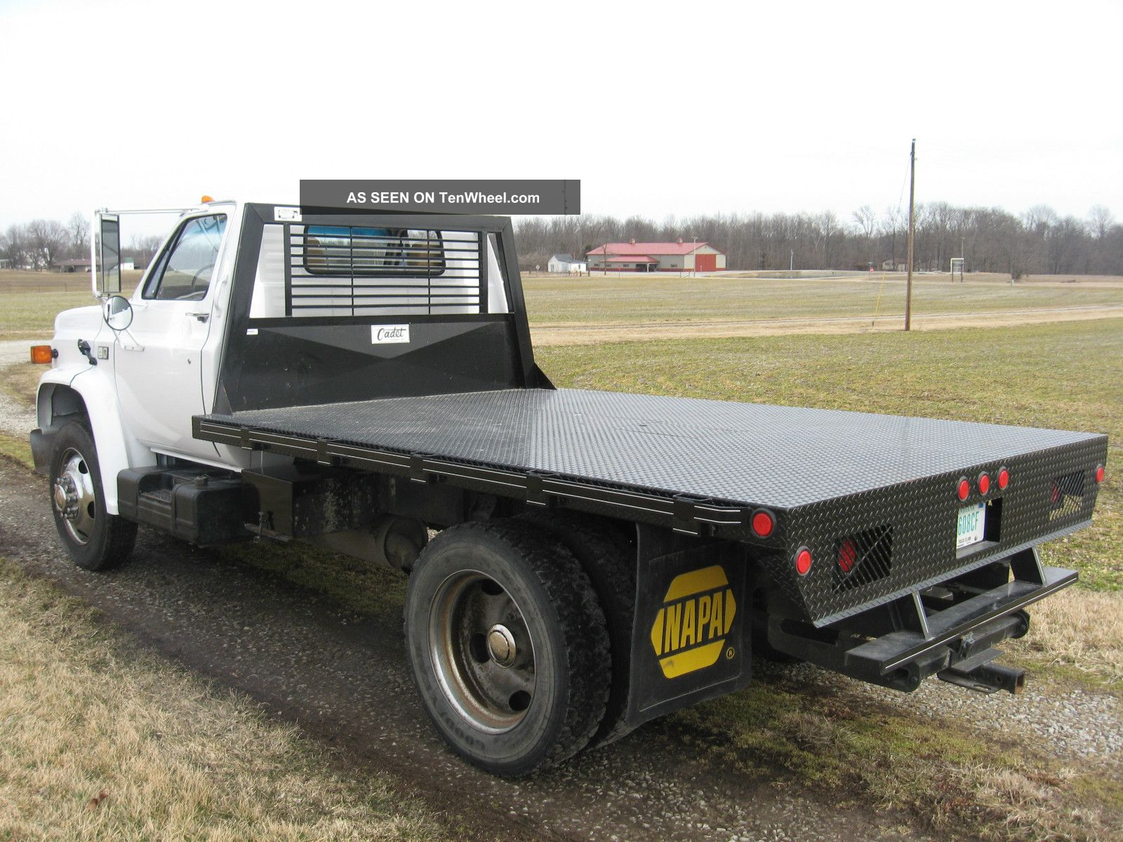 1988 chevrolet c70 flatbed truck 8 2 liter turbo diesel w. Black Bedroom Furniture Sets. Home Design Ideas