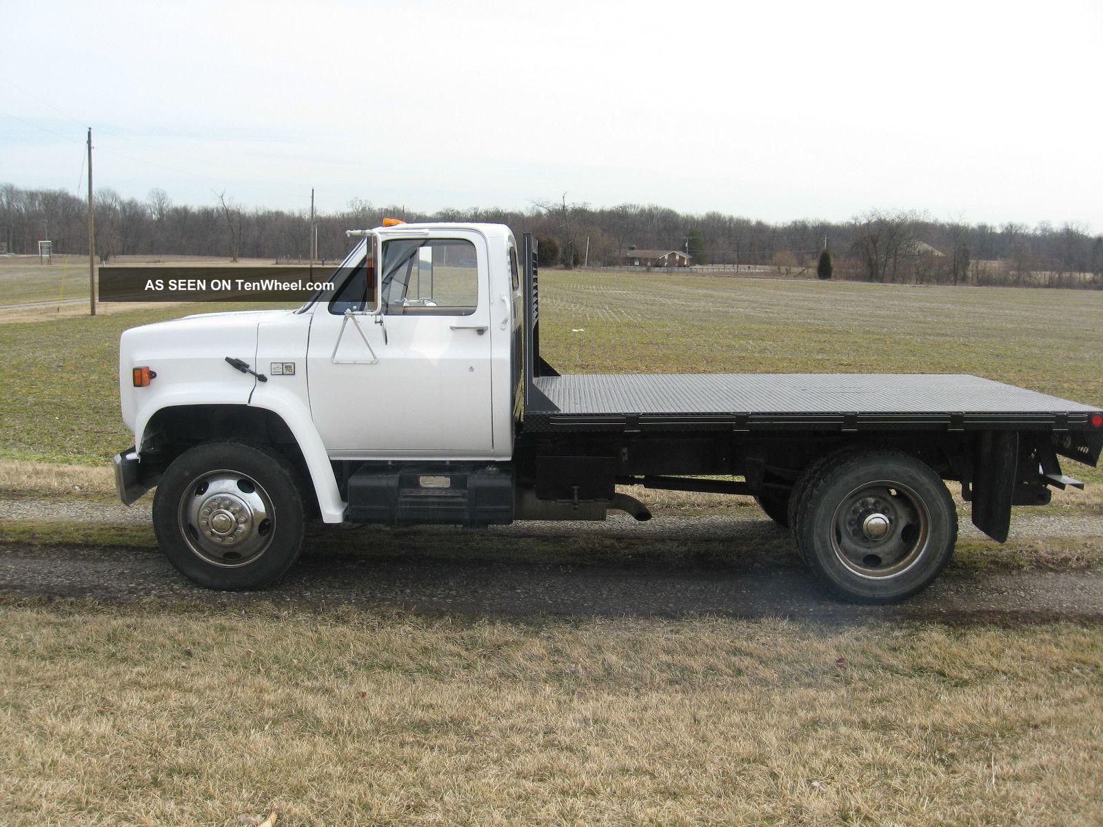 1988 Chevrolet C70 Flatbed Truck 8 2 Liter Turbo Diesel W