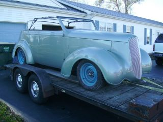 1937 Plymouth Custom Convertable photo