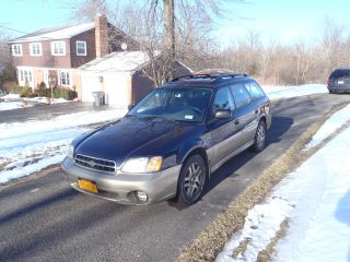 2000 Subaru Outback 5 - Speed photo