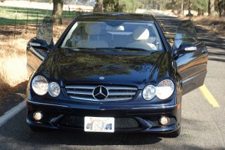 2009 Mercedes - Benz Clk350 Amg Package 2 - Door 3.  5l photo