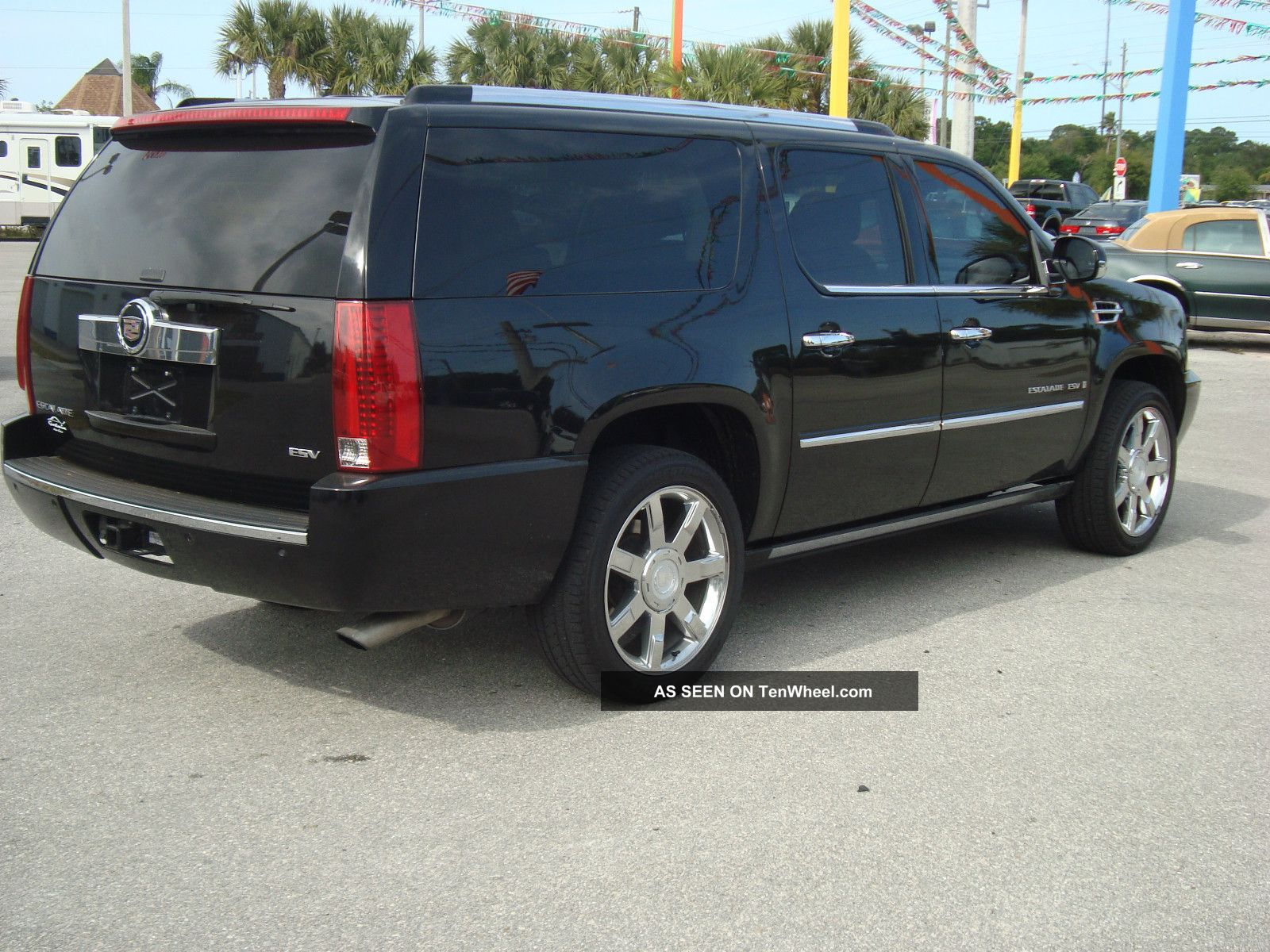 2007 cadillac escalade esv sport utility 4 door 6 2l escalade photo. Cars Review. Best American Auto & Cars Review