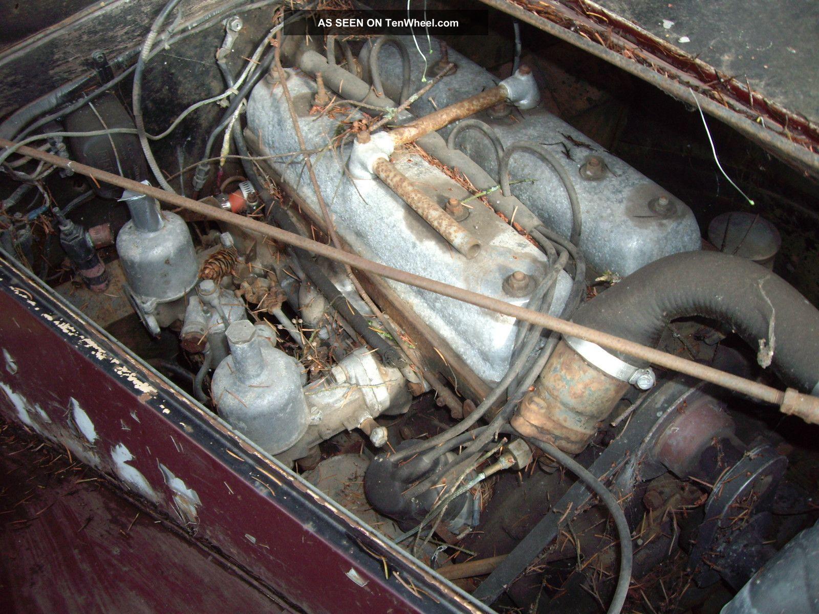 1950 Riley Rmb 2 1 2 Litre Saloon Sedan Mg Project