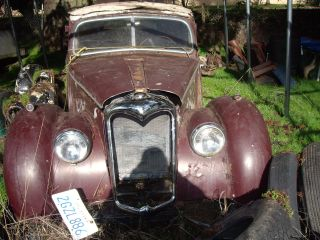 1950 Riley Rmb (2 1 / 2 Litre) Saloon (sedan),  Mg Project Hot Rod Jaguar Triumph photo