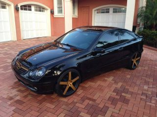 2003 Mercedes Benz C230 Sports Coupe - Supercharged Rims Fast Fun & Reliable photo