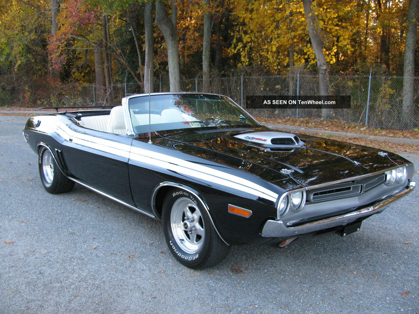 1971 dodge hemi challenger convertible black. Black Bedroom Furniture Sets. Home Design Ideas