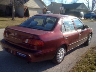 1998 Toyota Corolla Ve Sedan 4 - Door 1.  8l & photo